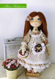 Alena Bulanova: Милая маленькая садовница :)