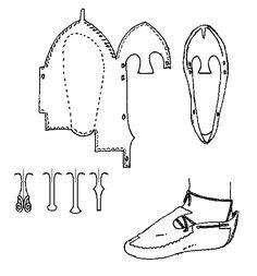 how to make an Irish Slipper (c.700-900)