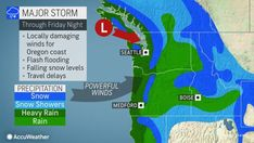 Snow Level, Snow Showers, Weather Alerts, Weather News, State College, Oregon Coast, Winter Months, Pacific Northwest, North West