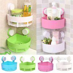 Bathroom-Kitchen-Corner-Suction-Cup-Shower-Shelf-Storage-Rack-Caddy-Organiser