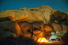 Located toward the western border of California's renowned Joshua Tree National Park, Jumbo Rocks Campground is just a short hike from some of the area's coolest rock formations. With just 124 first-come, first-served sites you'll have to arrive early, as Los Angeles is just over 2 hours away.