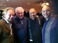 These are 'the cats' and this was a reunion of sors in Jakarta Indonesia early March Lee Ritenour, Dave Grusin, George Duke George Duke, Elevator Music, Contemporary Jazz, Jazz Artists, Smooth Jazz, March 2013, Jakarta, Musicians, Salsa