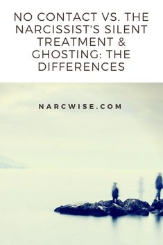 What's the difference between going No Contact, the silent treatment and ghosting? What makes one an act of mercy for the self and the others abusive? Read now to find out. Follow narcwise.com for more tips & wisdom on recovery from narcissistic abuse & codependency. Reclaim your freedom & joy now!