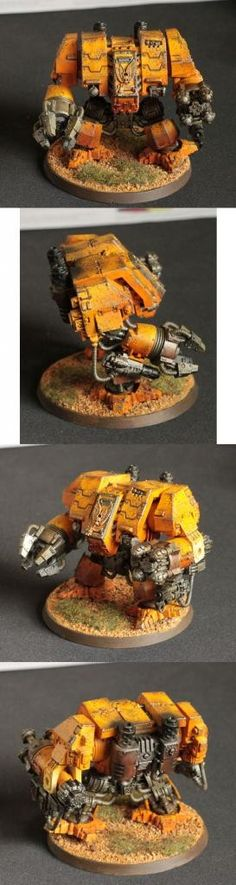 Imperial Fists Dreadnought