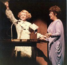 Bette Davis & Elizabeth Taylor 1981