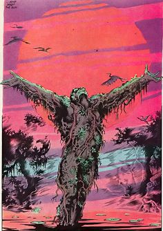 Swamp Thing - A great graphic novel about the journey of ego loss and the happiness and oneness it brings.