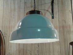 Lamp.Colg Galpon Tapa Blanca