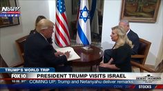 WATCH: Trump and Melania Arrive at Prime Minster's Residence in Israel, ...
