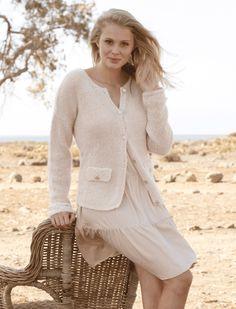 Strik en fin og klassisk jakke   Femina