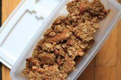 America's test kitchen granola recipe. Mmmmmm!