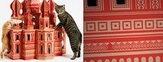 Casinhas de papelão para gatos - 4