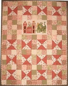 Princess & The Dragon - by The Birdhouse - Quilt PatternSECONDARY_SECTION$15.40: Fabric Patch: Patchwork Quilting fabrics, Moda fabric, Quilt Supplies,�Patterns