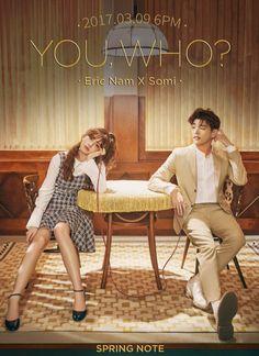 Somi with eric nam Korean Drama Romance, Korean Drama List, Watch Korean Drama, Korean Drama Movies, Drama Film, Drama Series, Film Pictures, Photos, Popular Korean Drama