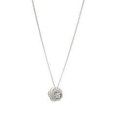 De Beers Aria Pendant Diamond Necklace - Shop more elegant jewels at ShopBAZAAR.com http://shop.harpersbazaar.com/designers/de-beers/