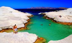 Milos Island, Greece http://www.greekinnovativesandals.com/2015/02/amazing-pictures-of-greece-february.html