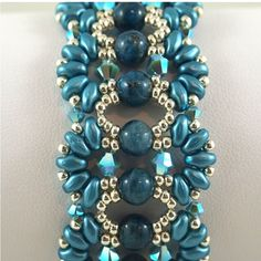 Farfalle Turquoise Bracelet by ChainedByLightness on Etsy, $70.00