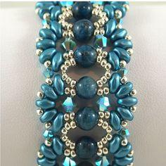 Farfalle Turquoise Bracelet by ChainedByLightness on Etsy, $70.00