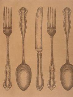 Cutlery Table Runner