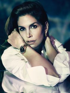 Cindy Crawford for Omega Watches