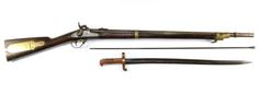 M1841 Mississippi rifle is listed (or ranked) 10 on the list The Most Iconic Civil War Weapons