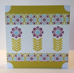 Card made with one of Stampin' Up! Sale-a-bration stamp sets