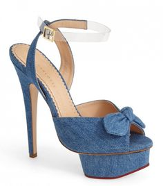 Serena Ankle Strap Sandals by Charlotte Olympia