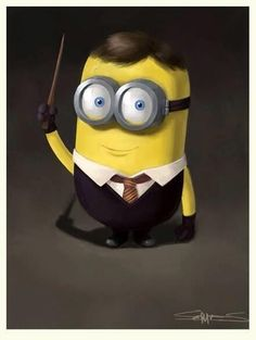 Harry Potter minion! CUTE