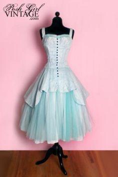 Vintage Prom Dress - Lovely