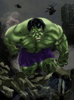#Hulk #Fan #Art. (Hulk) By:JoaoVital. ÅWESOMENESS!!!™ ÅÅÅ+