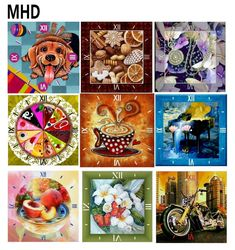 Butterflies Roses Landscape Mosaic 5d Diy Embroidery Icons Diamond Painting Christmas Cartoon Animals Sticker Decorations Bear