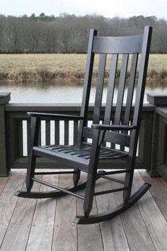 coral coast indoor outdoor mission slat rocking chair dark brown