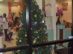 12/24/2013  6:00 pm Christmas Eve at Brilliant Nails & Spa. #Christmas, #nail, #salon, #beautiful,