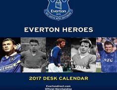 GiftLocalUK Everton Official 2017 Desk Easel Calendar - 2017 edition desk calendar- approx 16cm x 17cm- hard back easel- official licensed product (Barcode EAN = 9781785492020). http://www.comparestoreprices.co.uk/december-2016-week-1/giftlocaluk-everton-official-2017-desk-easel-calendar.asp