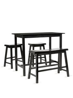 Lovely 4 Piece Bar Table Set