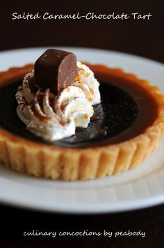 Salted Caramel-Chocolate Tart