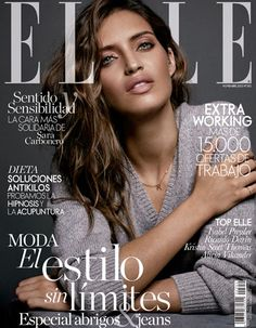 Elle Spain Cover with Sara Carboneroshot by fashion photographer Xavi Gordo represented by 8AM - 8 Artist Management #artistmangement #fashion #editorial  #8artistmanagement #xavigordo ★★ 8AM / 8 Artist Management ★★  more photos in http://8artistmanagement.com/