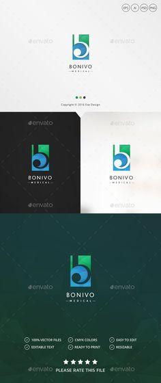 Letter B #Logo - Letters Logo #Templates Download here: https://graphicriver.net/item/letter-b-logo/19563732?ref=alena994