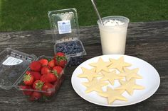 How to make Berry Star Cookies via @kingarthurflour