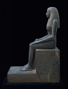 Statue of Lady Sennuwy | Museum of Fine Arts, Boston