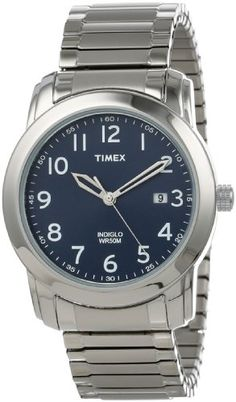 timex women s t2n9799j elevated classics watch two tone timex men s t2p1329j elevated classics blue dial silver tone expansion band watch timex