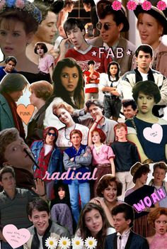 john hughes films collage