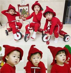 Daehan, Minguk, Manse | The Return of Superman. Adorable triplet ♥