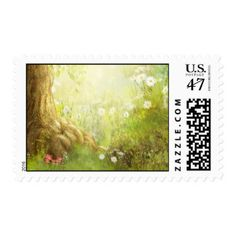 Woodland Forest Postage