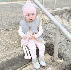 Winter baby fashion