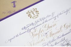 Luxury Wedding Invitations by Ceci New York Our Muse Feminine