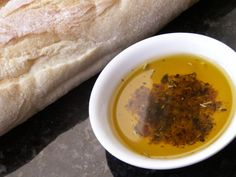 This is a recipe very similar to the bread dipping oil they give you at Bravo (an Italian chain restaurant in the USA).  My hubby loves it.  Serve with rosemary foccacia as they do at Bravo or with your favorite bread (I love french bread or sourdough bread with this).  If you like things spicy, feel free to add some crushed red pepper.