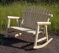 Timber Ridge Log Furniture has Cedar Log Furniture