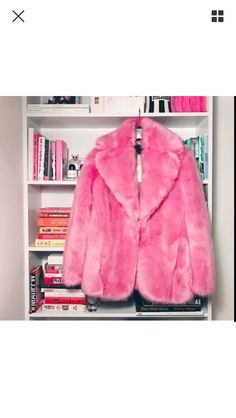 Jcrew pink faux fur coat in XS for sale on Poshmark, mercari, tradesy and eBay!
