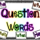 {FREEBIE} Each card contains a question word with a sentence that uses that word. Pictures are included to reinforce the meaning of the sentence!...
