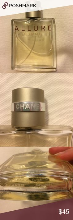Chanel Allure Homme 3.4 oz cologne authentic Chanel cologne for men, barely used -- about 3 oz still left. Authentic, purchased at Nordstrom... CHANEL Other